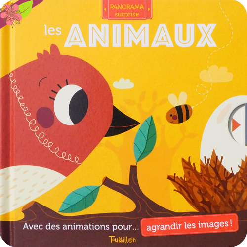 Les animaux - Panorama-Surprise - éditions Tourbillon