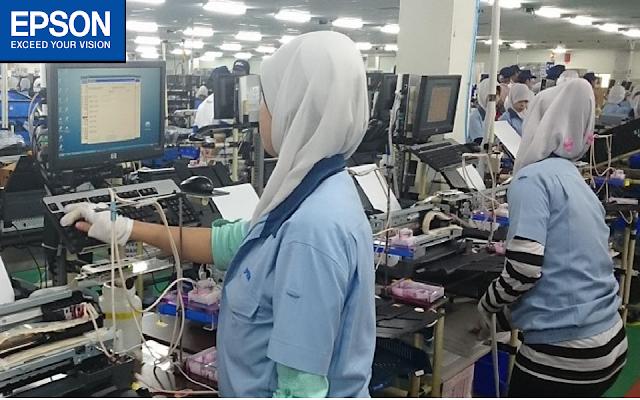 Lowongan Kerja SMA SMK D3 S1 PT Indonesia Epson Industry Jobs: Operator Produksi, QC