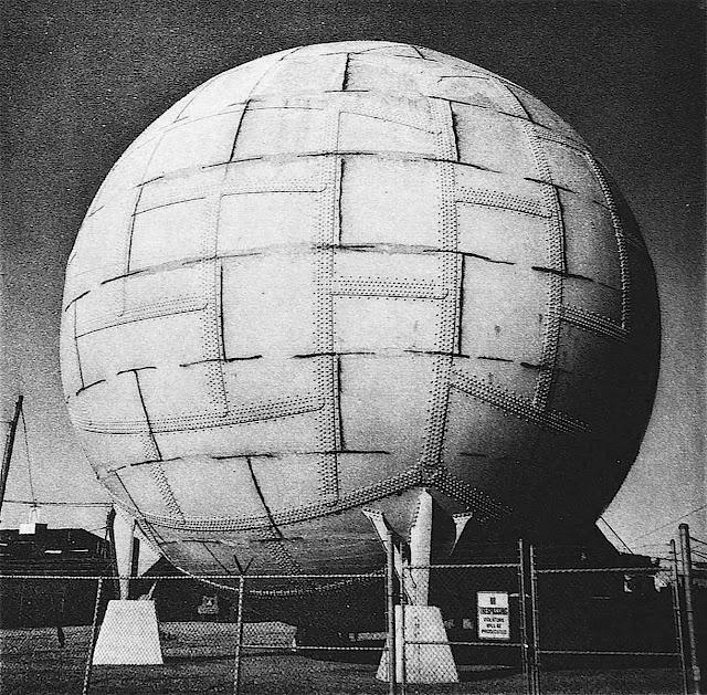 a Franco Marinai photo of a sphere water tank