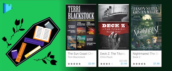 Google Play Books discounted for Halloween