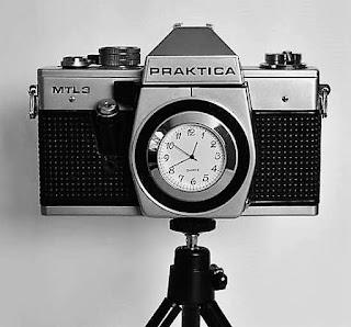 cámara reloj