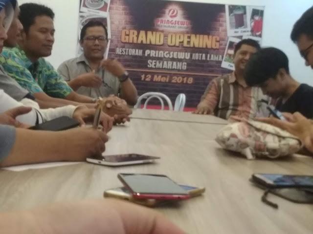 jajaran manajemen Pringsewu Kota Lama Semarang
