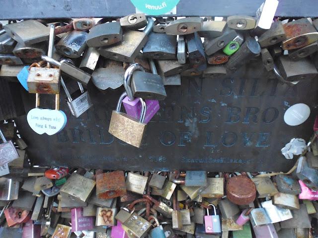 Puente del Amor en Helsinki