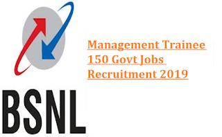 BSNL Management Trainee Recruitment 300 Govt Jobs Online MT Exam Notification 2019-Exam Pattern, Exam Syllabus