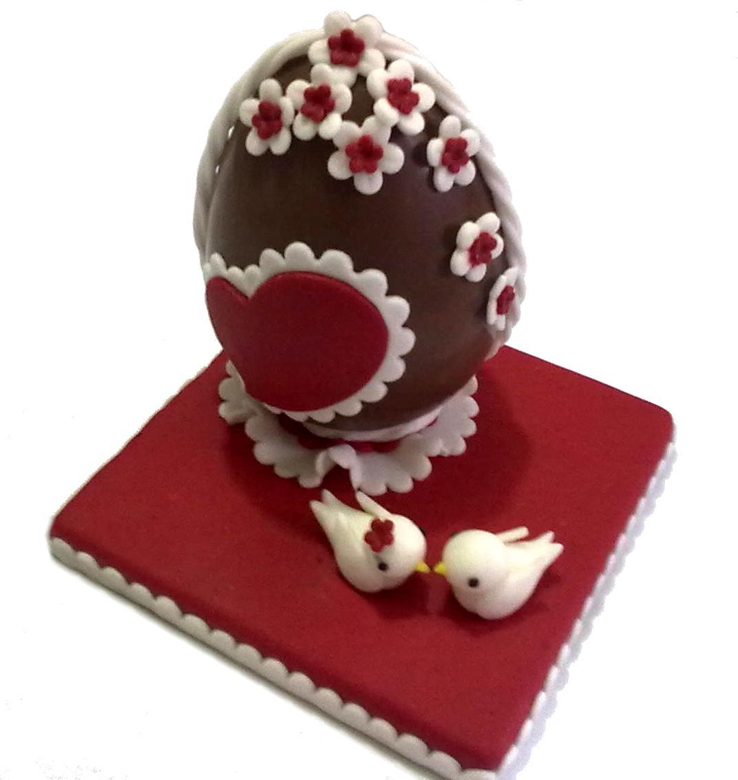 abbastanza Alessandra e i suoi dolci: Uovo di Pasqua decorato BI16