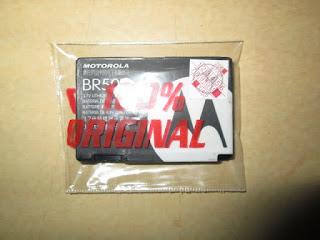 Baterai Ponsel Motorola V3 V3i U6 BR50 Original 100% Motorola