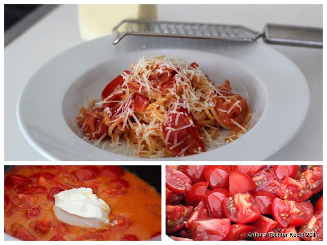 Spaghetti mit Mascarpone und Tomaten | Arthurs Tochter kocht. Der Blog für Food, Wine, Travel & Love von Astrid Paul