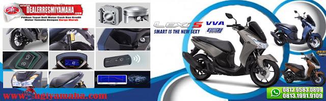 Kredit Motor Yamaha Lexi S