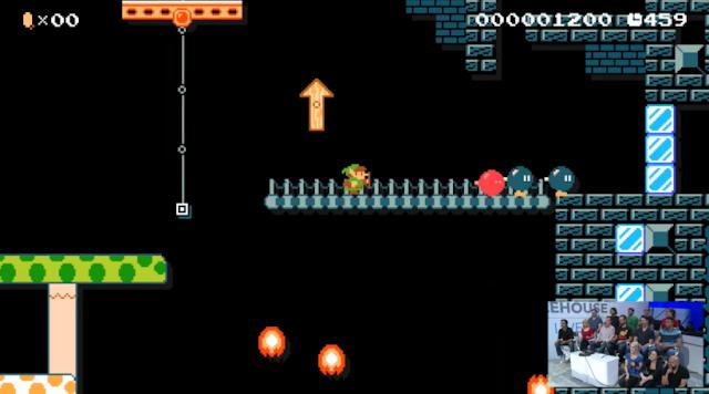 Super Mario Maker Link amiibo 8-bit