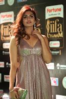 Telugu Actress Aarthi in Deep Neck Backless Golden Gown at IIFA Utsavam Awards 2017 Exclusive 39.JPG