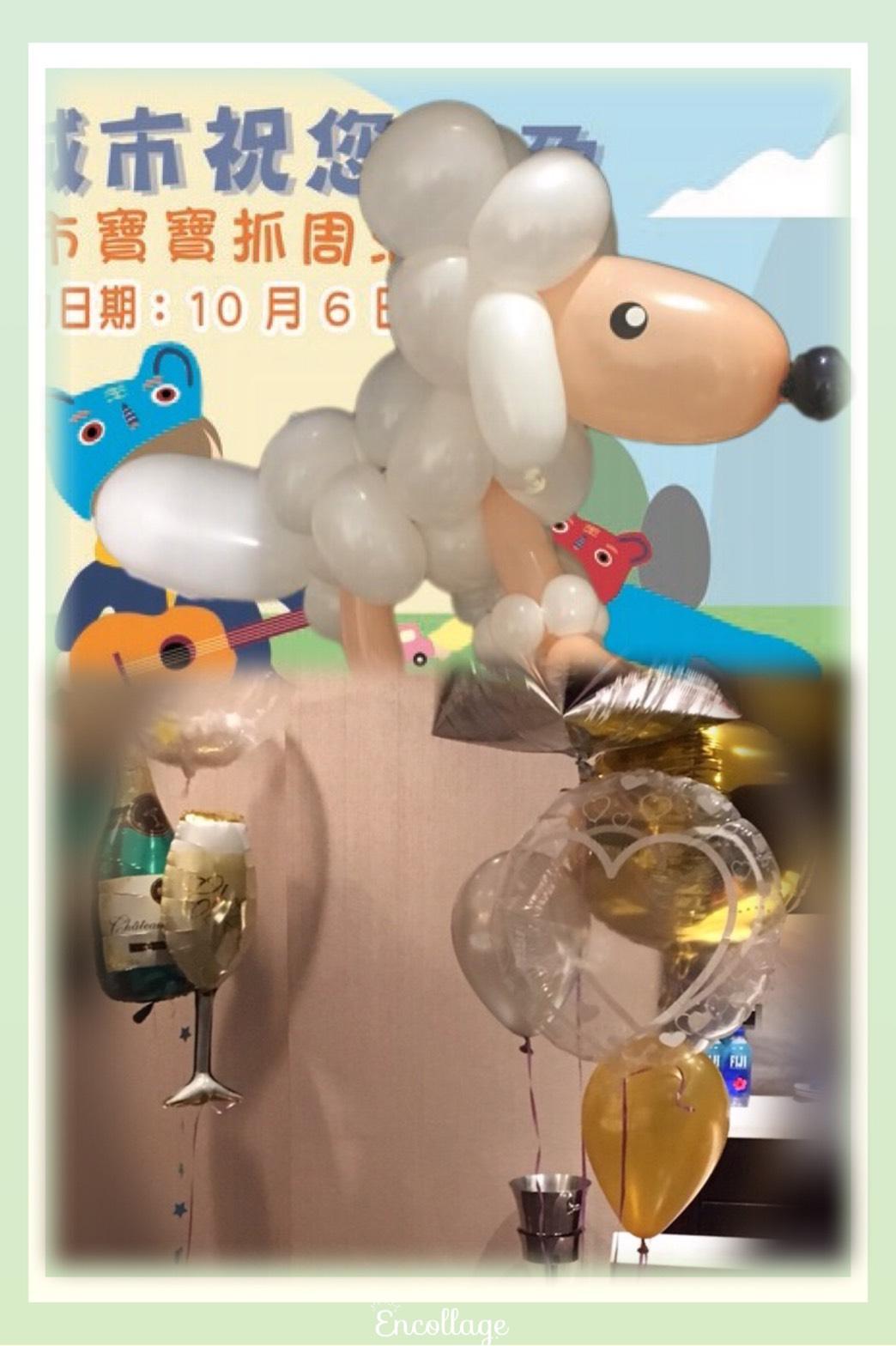 氣球貴賓狗