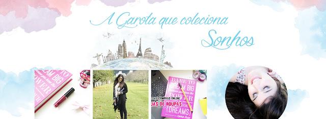 3 Blogs que você deve conhecer, A Gaorta que coleciona sonhos, Uma Garota Chamada Sam