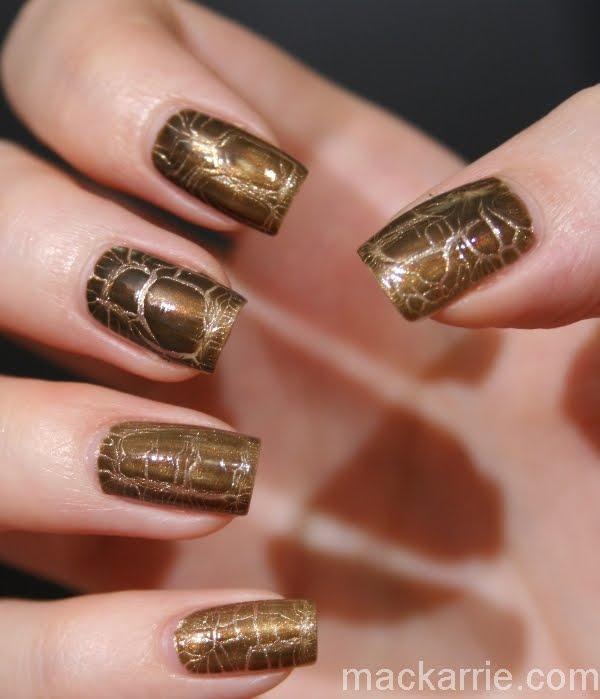 MacKarrie Beauty Style Blog: Dior Golden Jungle Nail Art ...