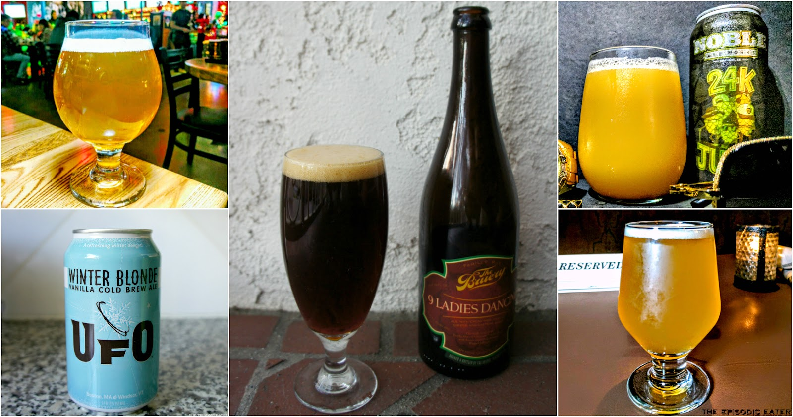 January Beer Review: Winter Brews on The Episodic Eater