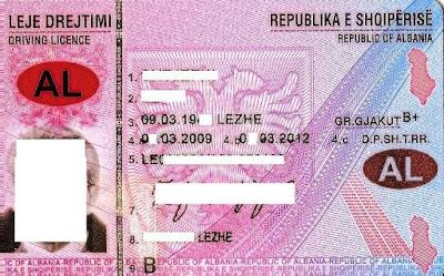 La patente albanese riconosciuta in 88 paesi ecco la lista ( agosto 2016)