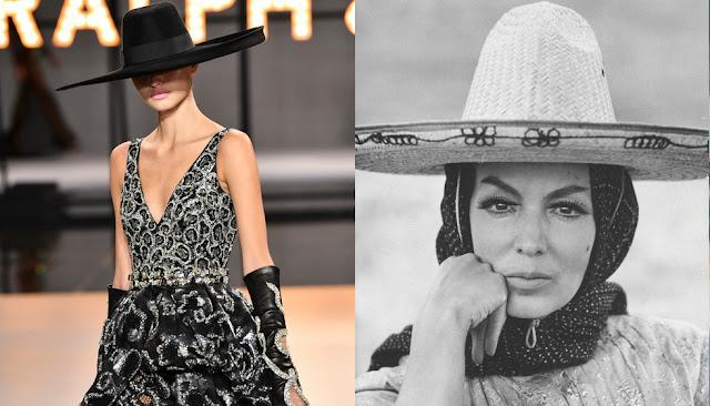 La marca de moda que le rindió tributo a María Félix en París