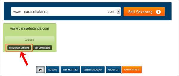 cara membuat blog wordpress domain dan self hosting