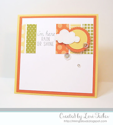 I'm Here Rain or Shine card-designed by Lori Tecler/Inking Aloud-stamps from Mama Elephant