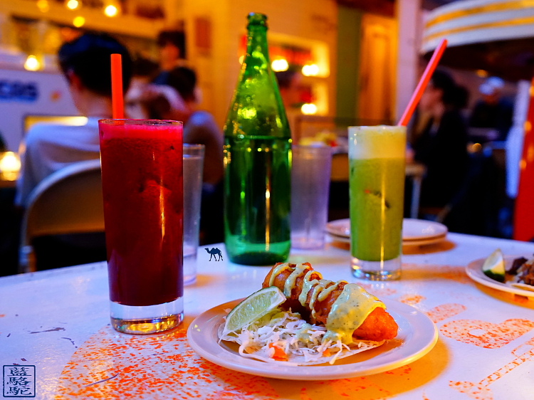 Le Chameau Bleu - Blog Voyage New York City -  Les Jus de fruits de Tacombi  Restaurant Mexicain à New York City