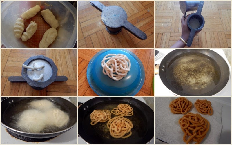 Easy murukku recipe