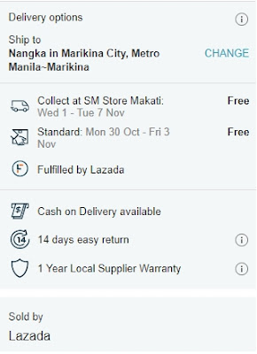 lazada cash on delivery - lazada free shipping