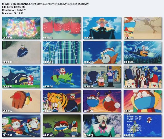 Gambar Doraemon and The Robot of Bug
