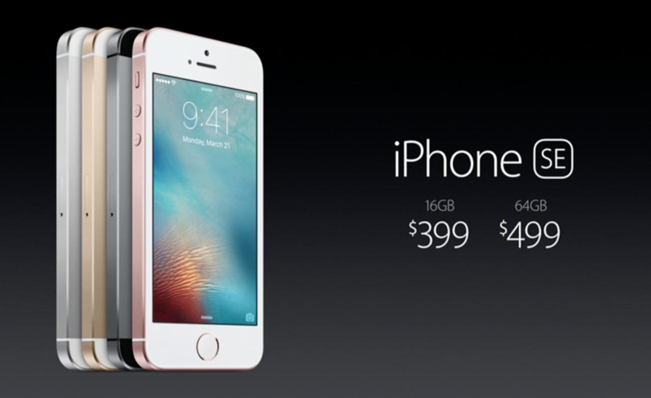 Apple chính thức ra mắt iPhone SE màn hình 4 inch mạnh như iPhone 6S