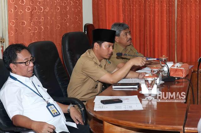 Estafet, Nur Arifin Plt. Bupati Trenggalek Pimpin Langsung Rakor Persiapan Pembangunan  Bendungan Bagong dan JLS