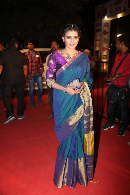 Hebah Patel Stills At Gemini TV Puraskaralu 2016
