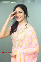 Actress Ritu Varma Pos in Beautiful Pink Anarkali Dress at at Keshava Movie Interview .COM 0110.JPG