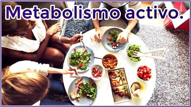 Mantén tu metabolismo activo con esta dieta balanceada