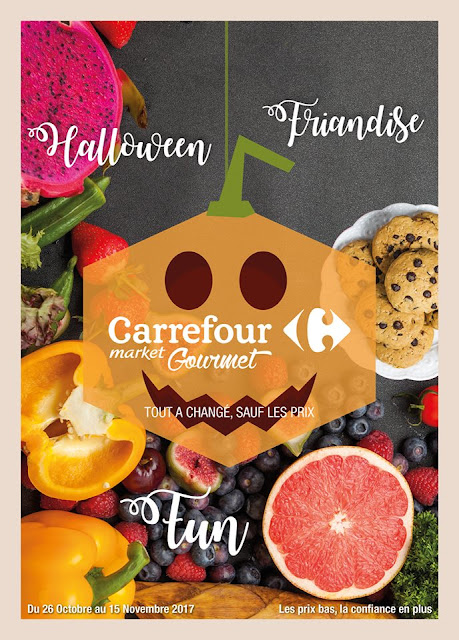catalogue carrefour market gourmet octobre novembre 2017