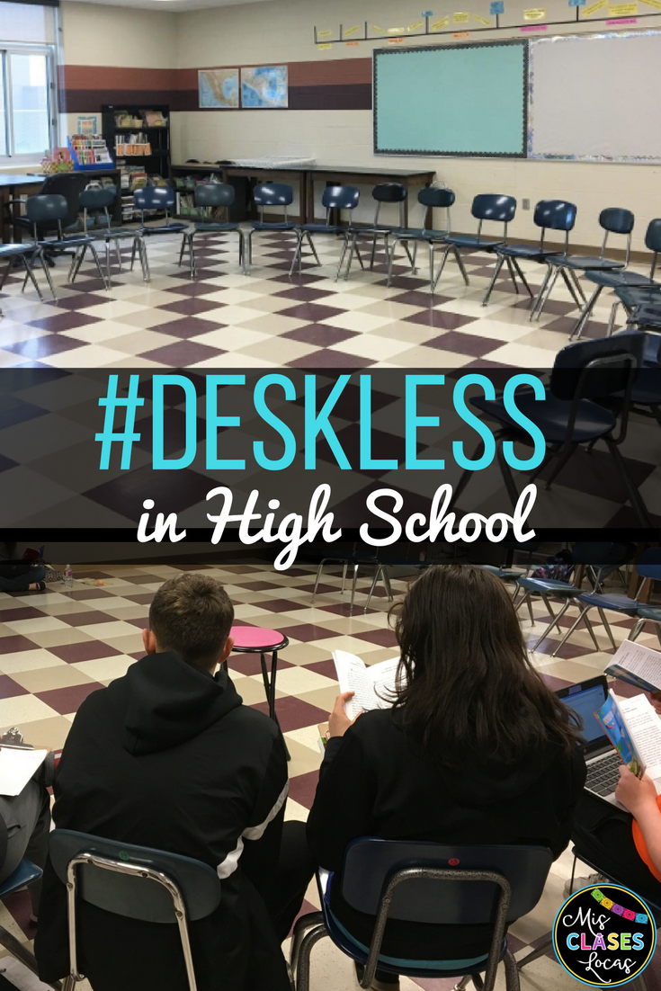 Deskless Classroom in High School Spanish class. FAQ