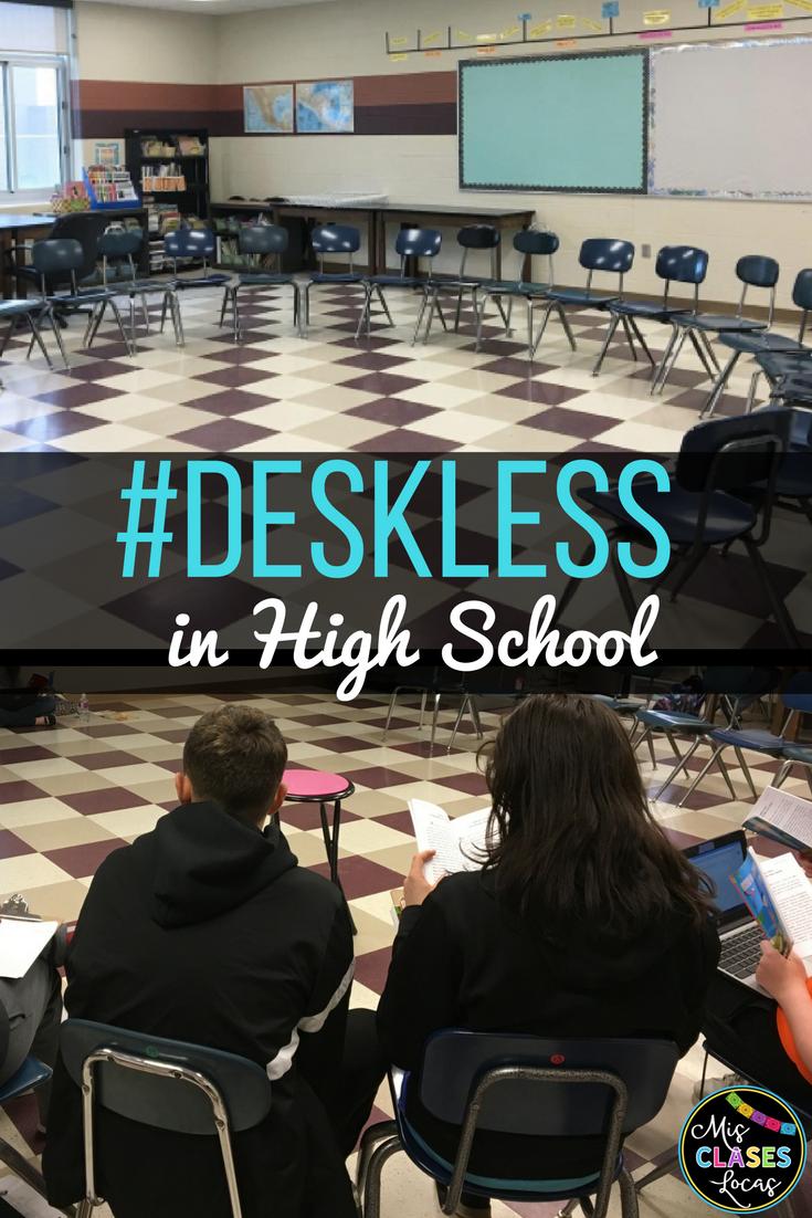 Deskless Classroom in High School Spanish class. FAQ