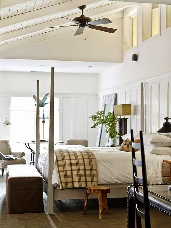 Black, Tan, and White Bedroom Design Ideas