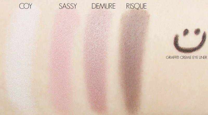 Eddie Funkhouser | Aspirational and Affordable Cosmetics Eye Shadow Swatches