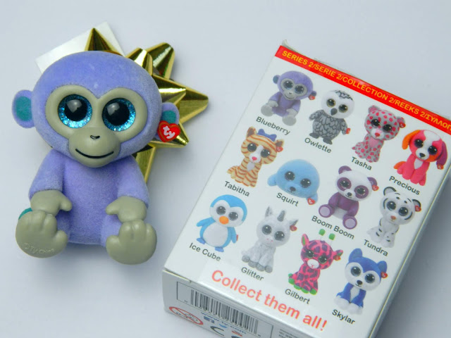 TY Mini Boos Collectibles Series 2 Blueberry
