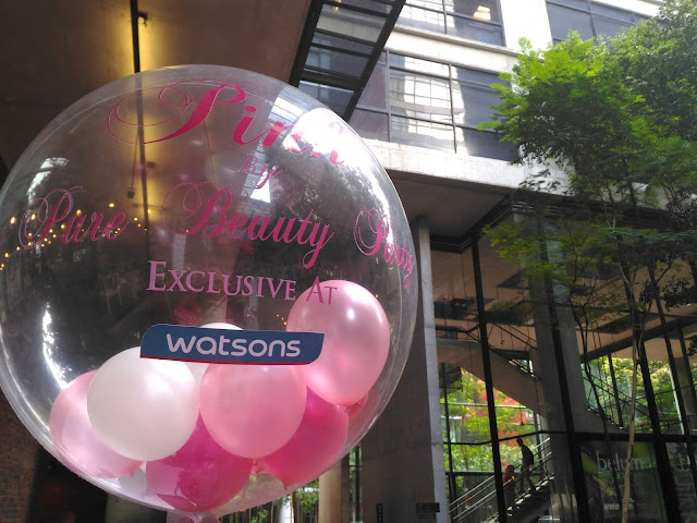 Going Pink with #PureBeauty and Watson Malaysia