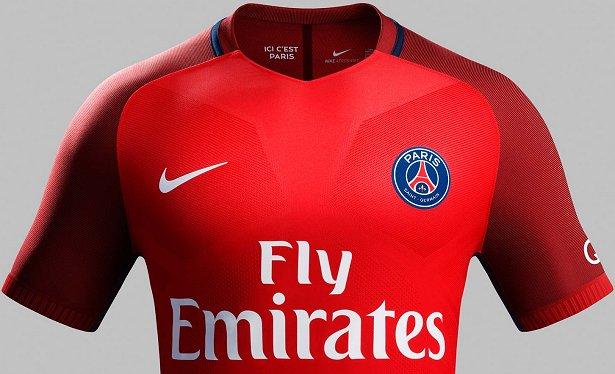 5a5fc49cfb Nike apresenta nova camisa reserva do PSG - Show de Camisas