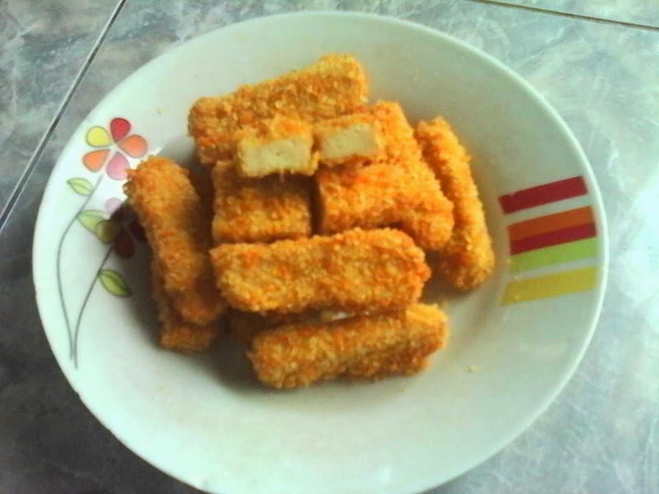 Resep Nugget Ayam Enak CRISPY Diluar LEMBUT Didalam