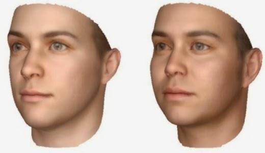 Visualisasi Wajah Hasil Analisis DNA Dari Putung Rokok Dan