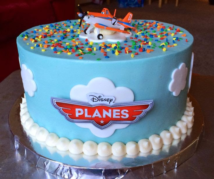 Mickey Airplane Cake Topper