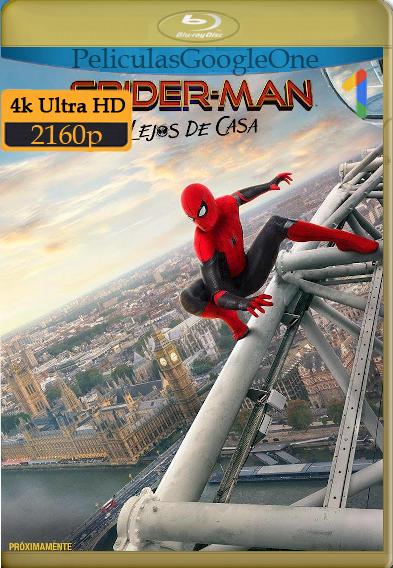 Spider-Man: Lejos de Casa (2019) 4k [2160p] [Latino] [GoogleDrive]
