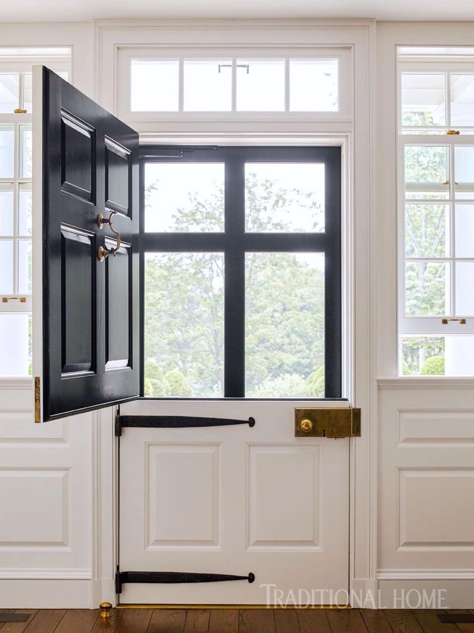 Stunning Dutch Door w/ Screen Door