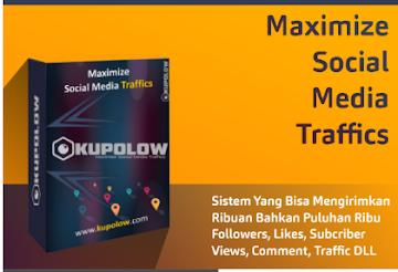 Kupolow-Maximize sosial media trafic