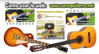 Como usar el curso de guitarra