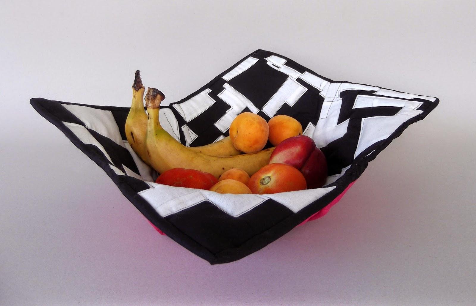 fabric basket, fabric bowl, fabric plate, fabric bread basket, textile bowl, textile basket