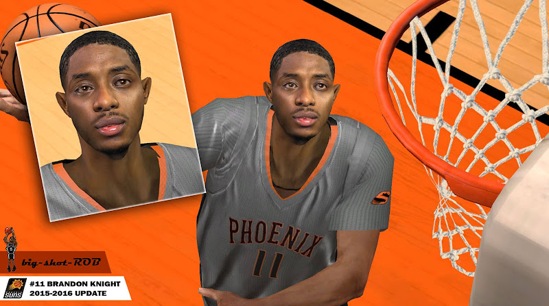 NBA 2k14 Cyberface Mod : Brandon Knight - hoopsvilla