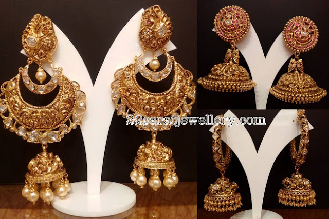 Antique Nakshi Jhumkas