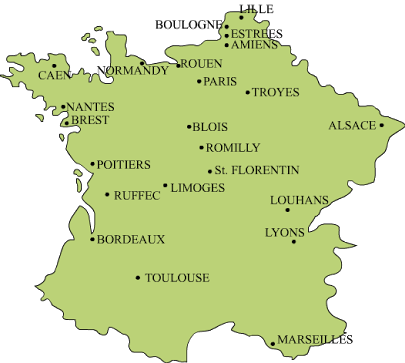 Map Of France Outline Only.Map Of History Half Yearly Exams